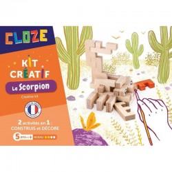 Kit créatif Scorpion 24 pièces